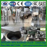 Sesame oil making machine / hydraulic sesame oil press machine and vertical sesame oil Extrusion supplier