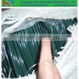 hessian cloth packing low carbon pvc coated iron wire