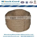 Raw Twisted 3 strand Jute Rope Twine