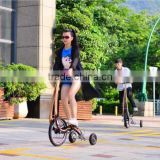 No Seat Fitness Folding Bike, Exercise Sports Car Ride, Weight Loss Outdoor Pedal Bicycle For Wholesale