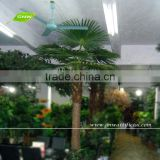 APM032 GNW fan shape palm leaf artificial palm tree green leaves for decoration