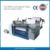 High Speed Cash Register Bill Roll ATM Thermal Paper Roll Slitter Rewinder cutting machine