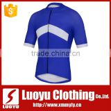 Custom Cycling Jersey with Navy Blue Short Sleeve