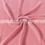 Red & White Colored Tasseled Ladies Fashion Knitted Blanket