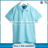 Different colors wholesale China manufacture of custom childs polo shirts