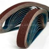 Red Aluminum Oxide Abrasive Sanding Belts For Metal Grinding And Polishing