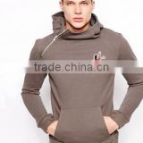Men Side Zipper Hoodie with Side Pockets / Pullover Hoodies
