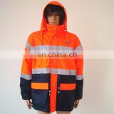 Best Sellers Of Alibaba Wholesale Clothing High Visibility Safety Coverall Garments Prices Reflective Rain Safety Jacket Sale