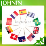 Factory sale customized party decorations paper flag with stick