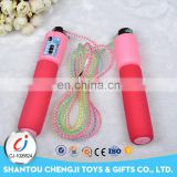 High quality speed aerobic exercise adjustable jump rope