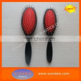 Ningbo steel pins hair brush for supermarket and promotion of shampoo
