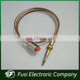 Safety gas fireplace thermocouple