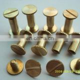 manufatctor custom metal screw bolt and nut with low order