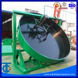 Factory Hot Sale Ball Shape Organic Fertilizer Disk Pan Granulator