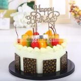 Latest rhinestone charm cake ornament birthday jewelry charm