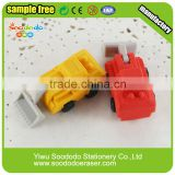 children fancy erasers sets toy stationery funny erasers