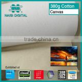 380g digital printing cotton canvas roll for painting                                                                         Quality Choice