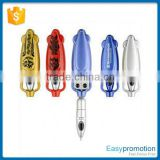 Factory direct sale unique design promotional plastic ball pen with logo wholesale price