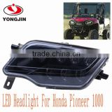 Stylish high intensity direct-illumination LED HEADLIGHT KIT FOR HONDA PIONEER ALL TERRAIN VEHICLE