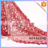 Mitaloo MFL1116 Good Designs Lace With Stones Lace Fabric Net Swiss Lace Fabric