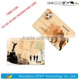 hot selling high speed business credit card usb disk 2.0 custom logo usb flash drives available