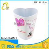 wholesale custom print plastic heat mug