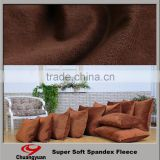 Profassional warp knitting polyester valvet fabric for pillow/curtain/sofa                                                                         Quality Choice