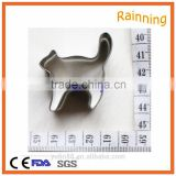 High quality stainless steel430 cat Shaped cookie cutter