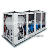 air cooled water cooler with screw refrigeration compressor
