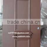high quality galvanized Israeli Security steel Door ,with multi lock, China factory Israel door