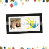 Hand print decoration baby photo fixie frame