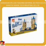 Factory price Scale Model Famous Building Block bridge toy
