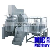 MIC- 1000L homogenizer yougar ,paste vacuum mixing machine with 1000L oil ,water tank with ce