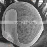 Men's toupee, lace base and hand-tied, customized order