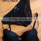Manufactory high quality OEM G-string women underwear bra and panty set