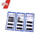 Winning star wholesale black metal bobby pins