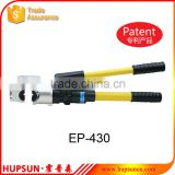 EP-430 crimping cable copper and aluminum terminals hydraulic crimping tools                                                                                         Most Popular