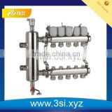 Underfloor Heating system's water manifold for floor heating system (YZF-L090)