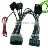 Car stereo and Auto audio wiring harness loom
