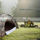 3 or 4 persons waterproof camouflage camping tent, outdoor camping tent, beach camping tent CL16-0003
