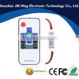 5-24V 10 Key Wireless RGB LED RF Remote Controller Mini Controller Dimmer for Single Color LED Strip 3528