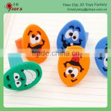 Funny And Wacky PVC Emoji Finger Ring Toy For Capsule Toy