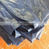 mesh sheet tarpaulin PP sliver/blue triangle plastic waterproof anti-aging antioxidant manufacture directly hot sell goodquality