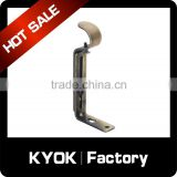 KYOK Brackets For Curtain Rail Rod Support Brushed Nickel 28mm,Metal Curtain Rods Accessories 0.5/0.5mm Quality Choice
