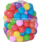 Wholesale 100pcs/lot Pool Balls Eco-Friendly Colorful Soft Plastic Ball Pit Balls Pool Toys Ball Toys                                                                         Quality Choice