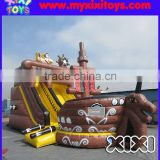 XIXI High Quality inflatable pirate ship jumping bouncer combo                                                                                                         Supplier's Choice