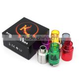 Full Mechanical Tube Mods Kennedy 22 Atomizer RDA Clone with Glass Tank LowPro RDA Factory Price