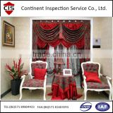 Home textile / fabric / household textile product / During production Inspection Service / the third party company