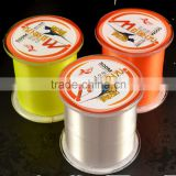 fishing line suppier 300lb high strength carp monofilament fishing line transparent color