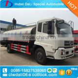 DONGFENG 4*2 stainless steel fresh milk tramsportation truck